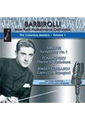 Barbirolli - Columbia Masters, Vol 1 (Music CD)