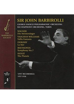 Barbirolli conducts Beethoven, Debussy, Holst, Vaughan Williams and Wagner (Music CD)