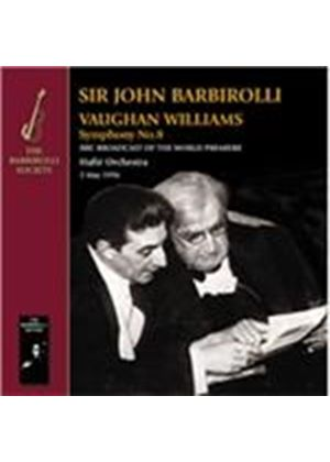 Ralph Vaughan Williams: Symphony No. 8; The Wasps Overture; Tuba Concerto in F minor; Five Variants (Music CD)