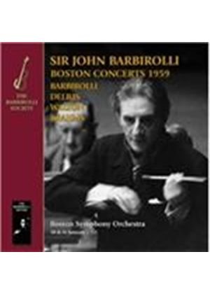 Boston Concerts, 1959 (Music CD)