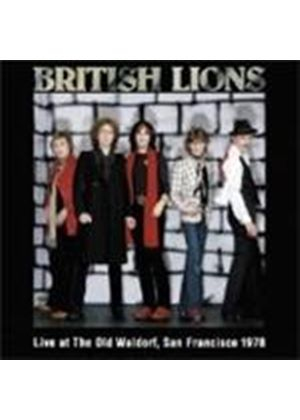 British Lions - Live At The Old Waldorf (San Francisco 1978) (Music CD)