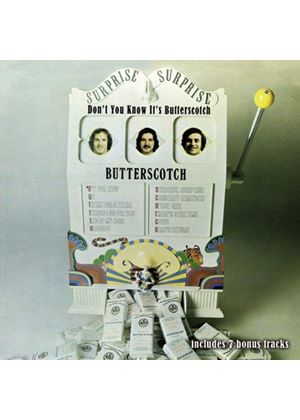 Butterscotch - Don't You Know (Music CD)