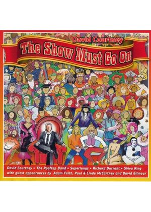 David Courtney - Show Must Go On (Music CD)