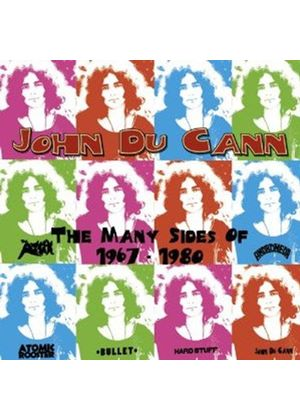 Johnny Du Cann - Many Sides Of (1967 to 1980) (Music CD)