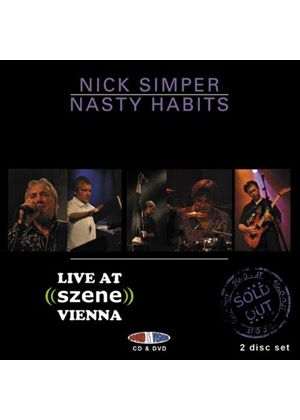 Nick Simper & Nasty Habits - Live At Szene, Vienna (+DVD)