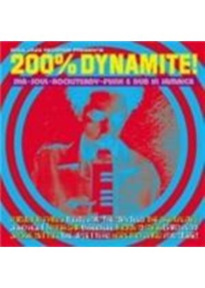 Various Artists - 200% Dynamite (Ska Soul Rocksteady Funk & Dub In Jamaica) (Music CD)