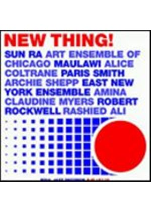 Various Artists - New Thing! - Deep Jazz From The USA 1970-80 (Music CD)