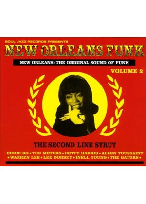 Various Artists - Soul Jazz Records Presents New Orleans Funk - Vol. 2 (Music CD)