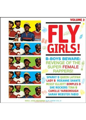 Various Artists - Soul Jazz Presents Fly Girls (B Boys Beware - Revenge Of The Super Female Rappers) (Music CD)