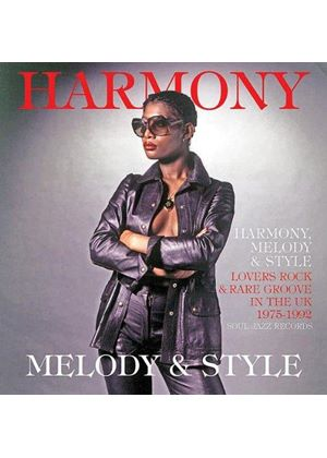 Various Artists - Harmony, Rhythm and Style (Lovers Rock and Rare Groove in the UK 1975-92) (Music CD)