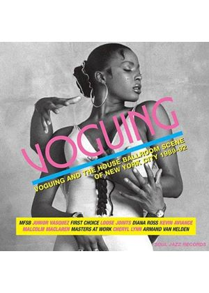 Various Artists - Soul Jazz Records presents Voguing (Voguing and the House Ballroom Scene in New York City 1989-92) (Music CD)