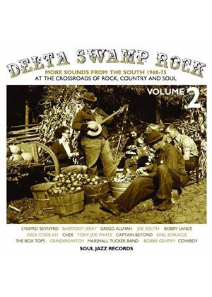 Various Artists - Soul Jazz Records presents Delta Swamp Rock 2 - More Sounds From The South 1968-75  (At the Crossroads of (Music CD)