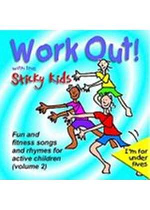 The Sticky Kids - Work Out! With The Sticky Kids (Music CD)