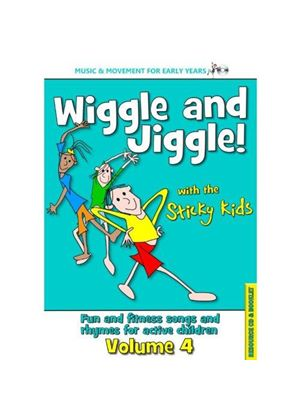 Sticky Kids (The) - Wiggle and Jiggle (Music CD)