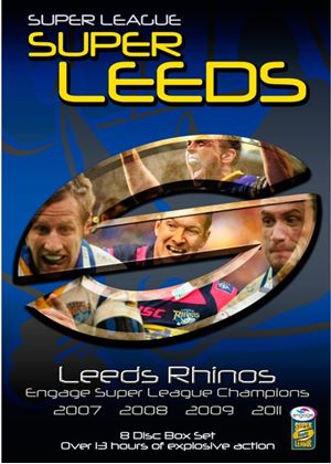 Leeds Rhino's - Engage Super League Champions (07/08/09/11) 8 Disc Box Set