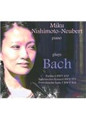 Miku Nishimoto-Neubert plays Bach (Music CD)