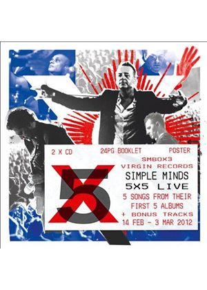 Simple Minds - 5x5 Live (Live Recording) (Music CD)