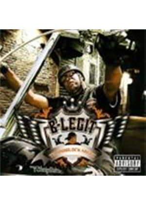 B-Legit - Throwblock Muzic [PA] (Music CD)