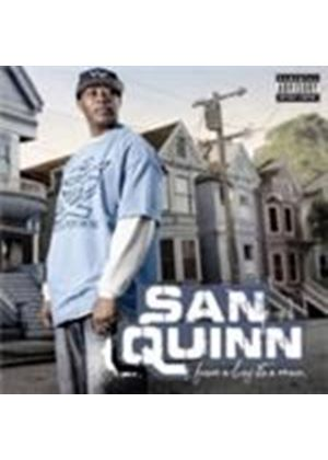 Sann Quin - From A Boy To A Man [PA] (Music CD)