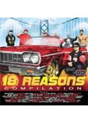 Thizz Latin - Eighteen Reasons [PA] (Music CD)