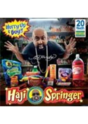 Haji Springer - Hurry Up And Buy [PA] (Music CD)