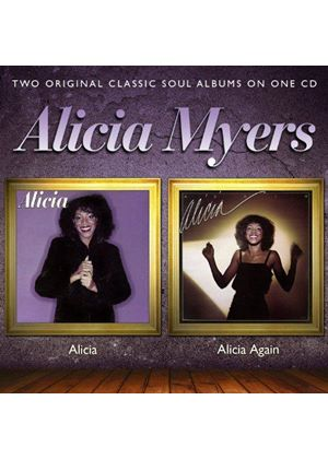 Alicia Myers - Alicia/Alicia Again (Music CD)