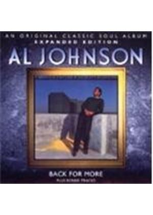 Al Johnson - Back for More (Music CD)