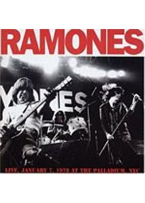 The Ramones - Live January 7 1978, At The Palladium Nyc (Music CD)