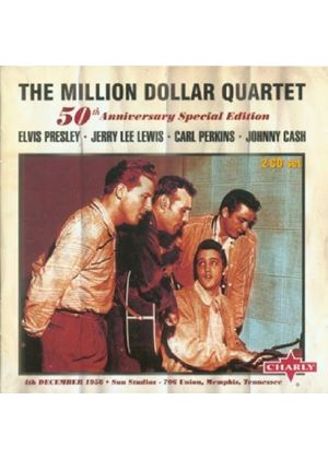 Presley/Lewis/Perkins/Cash - The Million Dollar Quartet: 50th Anniversary Special Ed. (Music CD)