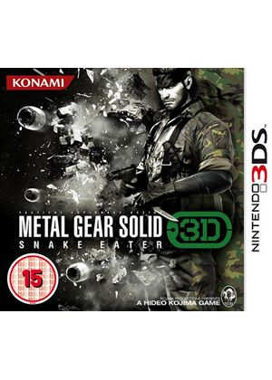 Metal Gear Solid: Snake Eater (Nintendo 3DS)