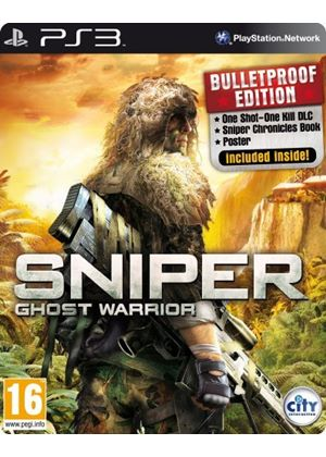 Sniper Ghost Warrior - Steelbook Extended Edition (PS3)