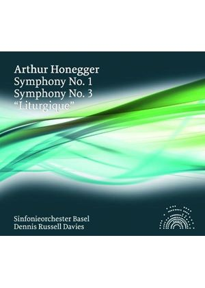 "Arthur Honegger: Symphony No. 1; Symphony No. 3 ""Liturgique"" (Music CD)"