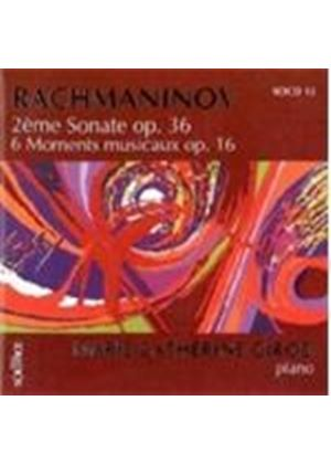 Sergey Rachmaninov - 2nd Sonata/Les 6 Moments Musicaux [French Import]