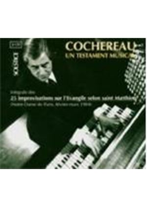 PIERRE COCHEREAU - Un Testament Musical (2cd) [French Import]
