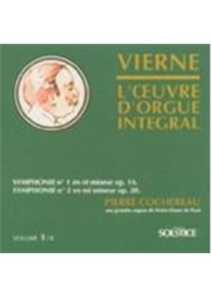 Louis Vierne - Symphonies Nos. 1 And 2 [French Import]