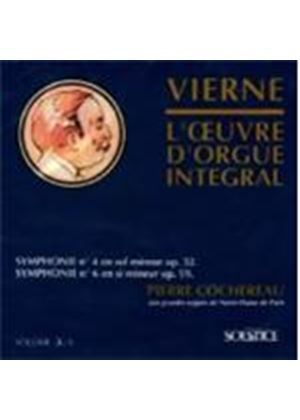 Louis Vierne - Symphony 4 And 6 [French Import]