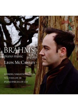 Brahms: Handel Variations; Waltzes; Piano Pieces (Music CD)