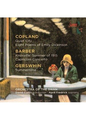 April Fredrick Sings Copland, Barber, Gershwin (Music CD)