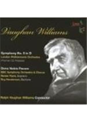 Ralph Vaughan Williams - Symphony No. 5, Dona Nobis Pacem (Williams, LPO) (Music CD)
