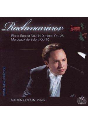 Sergey Rachmaninov - Piano Sonata No. 1, Morceaux De Salon For Piano (Cousin)
