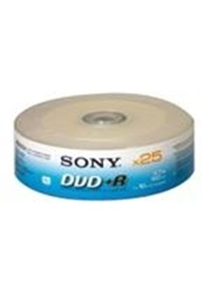 Sony DPR 120 - 25 x DVD+R - 4.7 GB ( 120min ) 1x - 16x - brick - storage media