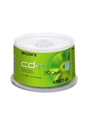 Sony CDQ 80N - 50 x CD-R - 700 MB ( 80min ) 48x - spindle - storage media