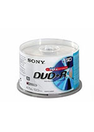 Sony DPR 120 - 50 x DVD+R - 4.7 GB 16x - spindle - storage media