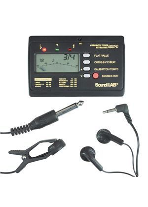 SoundLAB Electronic Tuner and Metronome