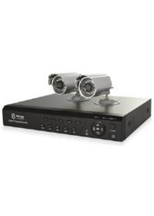Storage Options CCTV 1000GB Digital Video Recorder with 2 Cameras