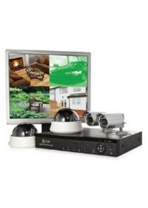 Storage Options CCTV 1000GB Digital Video Recorder with 2+2 Cameras and Monitor