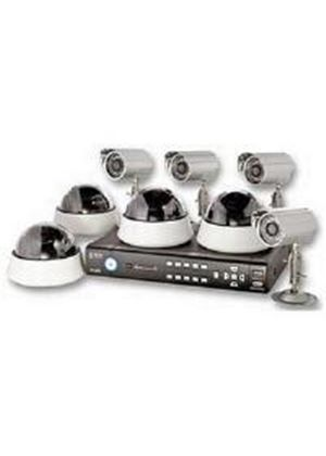 Storage Options CCTV Digital Video Recorder 8 Channel 500GB 4+4 Cameras