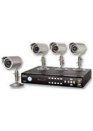 Storage Options CCTV Digital Video Recorder 8 Channel 500GB Plus 4 Cameras