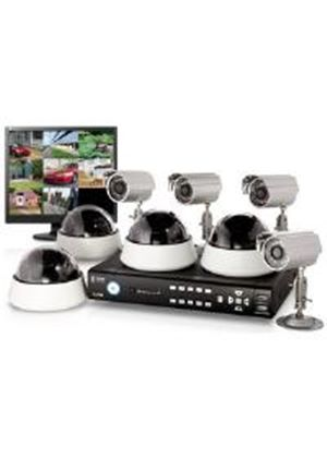 Storage Options CCTV Digital Video Recorder 8 Channel 2000GB 4 + 4 Cameras and Monitor