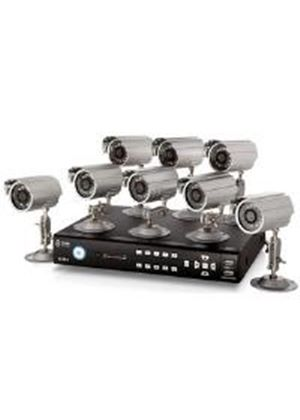 Storage Options CCTV Digital Video Recorder 8 Channel 500GB Plus 8 Cameras